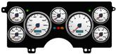 1982-87 Buick Regal NVU Performance II Series White / Blue Digital Gauge System (KPH)