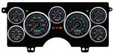 1982-87 Buick Regal New Vintage CFR Series Black / Blue Digital Gauge System (KPH)