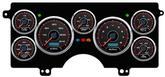 1982-87 Buick Regal New Vintage CFR Series Black / Red Digital Gauge System (MPH)