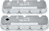 "Chevrolet Big Block 2-1/4"" Tall Polished Aluminum Holley M/T Valve Covers"