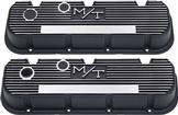Chevrolet Big Block Black Krinkle Finish Holley M/T Valve Covers