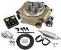 Holley Sniper EFI Self-Tuning Fuel Injection Conversion Master Kit - Classic Gold Finish