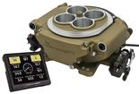 Holley Sniper EFI Self-Tuning Fuel Injection Conversion Base Kit - Classic Gold Finish