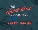 Chevy Truck Satin Jacket Black Large