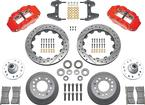 FOR HS37320 UPGRADE WILWOOD 13 DRILLED ROTORS & 6 PISTON RED CALIPERS - NOT SOLD SEPARATELY