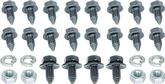 "20 Piece 5/16"" Front End Indented Head Bolt Set"