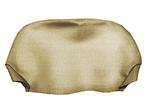 1969 Firebird Gold Headrest Covers