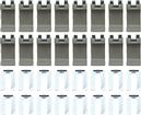 1967-69 F-BODY CONVERTIBLE TOP BOOT CLIP KIT (16)