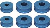 1967-81 GM F-Body; 68-74 Nova - Billet Aluminum Body Bushings - with Anodized Finish