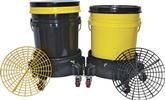 Grit Guard Dual Bucket Washing System