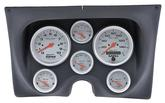 1967-68 F-BODY 6 GAUGE DASH PANEL KIT - ULTRA LITE GAUGES - BLACK PANEL