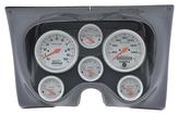 1967-68 F-BODY 6 GAUGE DASH PANEL KIT - ULTRA LITE GAUGES - CARBON FIBER PANEL