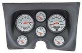1967-68 F-BODY 6 GAUGE DASH PANEL KIT - PHANTOM GAUGES - BLACK PANEL