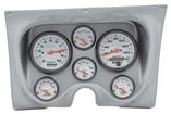 1967-68 F-BODY 6 GAUGE DASH PANEL KIT - PHANTOM GAUGES - ALUMINUM PANEL