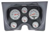 1967-68 F-BODY 6 GAUGE DASH PANEL KIT - PHANTOM GAUGES - CARBON FIBER PANEL
