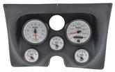 1967-68 F-BODY 6 GAUGE DASH PANEL KIT - PHANTOM II GAUGES - BLACK PANEL