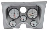 1967-68 F-BODY 6 GAUGE DASH PANEL KIT - PHANTOM II GAUGES - ALUMINUM PANEL