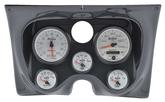 1967-68 Camaro / Firebird 6-Gauge Carbon Fiber Dash Panel Kit with Phantom II Series Gauges