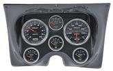 1967-68 Camaro / Firebird 6-Gauge Carbon Fiber Dash Panel Kit with Cobalt Series Gauges