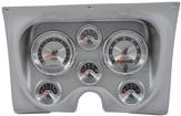 1967-68 F-BODY 6 GAUGE DASH PANEL KIT - AMERICAN MUSCLE GAUGES - ALUMINUM PANEL