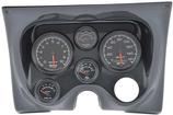 1967-68 Camaro / Firebird 6-Gauge Carbon Fiber Dash Panel Kit with ES Series Gauges