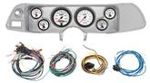 1970-78 Camaro 6 Gauge Brushed Aluminum Dash Panel Kit with Phantom II Series Gauges