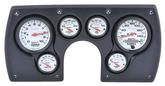 1982-89 Camaro 6 Gauge Black ABS Dash Panel Kit with Phantom Series Gauges