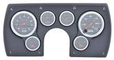 1982-89 CAMARO 6-GAUGE PANEL BLACK ABS PLASTIC WITH SPORT COMP GAUGES