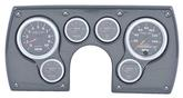 1982-89 Camaro 6 Gauge Simulated Carbon Fiber ABS Dash Panel Kit with Sport Comp II Series Gauges
