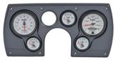 1982-89 Camaro 6 Gauge Simulated Carbon Fiber ABS Dash Panel Kit with Phantom II Series Gauges