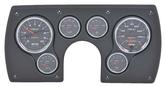 1982-89 Camaro 6 Gauge Black ABS Dash Panel Kit with Cobalt Series Gauges