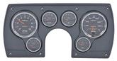 1982-89 CAMARO 6 GAUGE DASH PANEL KIT - COBALT GAUGES - CARBON FIBER PANEL