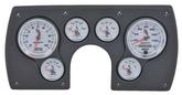 1982-89 Camaro 6 Gauge Black ABS Dash Panel Kit with C2 Series Gauges