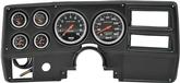 1984-87 GM Truck 6 Gauge Black Dash Panel Kit with Sport Comp Series Gauges