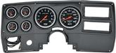 1984-87 GM Truck 6 Gauge Carbon Fiber Look Dash Panel Kit with Sport Comp Series Gauges