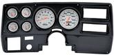 1973-83 GM Truck (Wiper Switch on Dash) 6 Gauge Carbon Dash Panel Kit with Ultra Lite Series Gauges