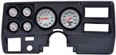 1973-83 GM TRUCK 6 GAUGE DASH PANEL KIT W/WIPER SWITCH - PHANTOM 2 1/16 GAUGES - CARB FIBR