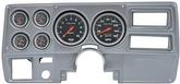 1973-83 GM Truck (Wiper Switch on Dash) 6 Gauge Aluminum Dash Panel Kit w/Sport Comp Series Gauges