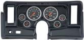 1969-76 Nova 6 Gauge Simulated Carbon Fiber Dash Panel with Cutouts and Sport Comp Gauges
