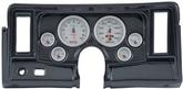 1969-76 Nova 6-Gauge Simulated Carbon Fiber Dash Panel with Cutouts, and Ultra Lite II Series Gauges