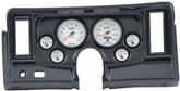 1969-76 Nova 6-Gauge Simulated Carbon Fiber Dash Panel with Cutouts, with Phantom II Series Gauges