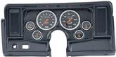 1969-74 Nova Sport Comp 6 Gauge Dash Panel Kit - Carbon Fiber