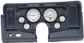 1969-74 NOVA 6 GAUGE DASH PANEL KIT W/O HEATER / AC VENT CUTOUTS WITH PHANTOM GAUGES CARBON FIBER