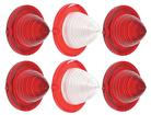 1961 Impala Tail Lamp and Back Up Lamp Lens Set