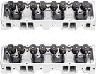 1955-86 Chevrolet Small Block Edelbrock Performer RPM 70cc Cylinder Heads with Straight Plugs