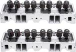 1955-86 Chevrolet 265-400 Small Block Edelbrock Performer 64Cc Cylinder Head (Pair)