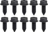 "Bolt, 5/16-18 x 13/16"" Pointed Tip With Hex Washer Head, Black Phosphate, 10 Piece Set"
