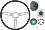 1969-70 Without Tilt Wheel 3-Spoke Comfort Grip Steering Wheel Kit