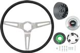 1969-70 With Tilt Wheel 3-Spoke Comfort Grip Steering Wheel Kit