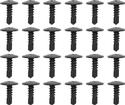 1967-69 Camaro / Firebird Roof Rail Weatherstrip Channel Screw Set, 24 Piece Set